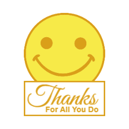 Thanks for All You Do Lapel Pins