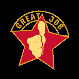 God Job Custom Lapel Pins