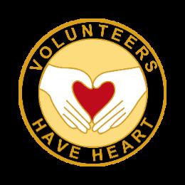 Volunteers Custom Lapel Pins