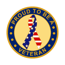USA Veteran Custom Lapel Pins
