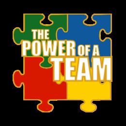 The Power Of A Team Custom Lapel Pins