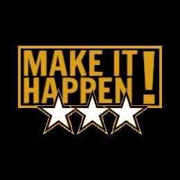 Make It Happen Custom Award Pins