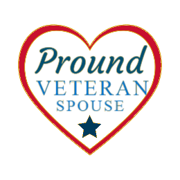 Pround Veteran Spouse Lapel Pins