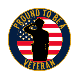 Pround to be a Veteran Lapel Pins
