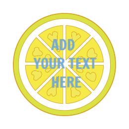 Add Your Text Custom Food Pins