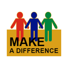 Make A Difference Custom Lapel Pins
