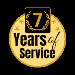 Year of Service Custom Award Lapel Pins