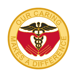 Our Caring Makes A Difference Custom Lapel Pins