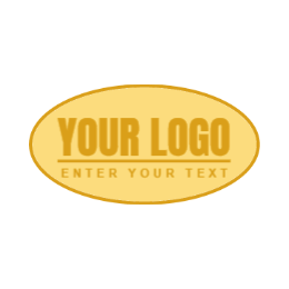 Blank Oval Custom Enamel Pins