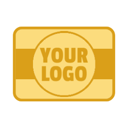 Blank Rectangle Custom Pins