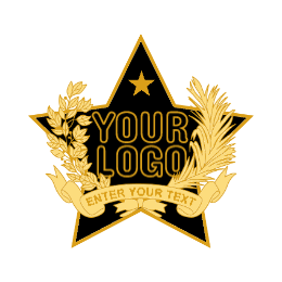 Blank Custom Star Lapel Pins