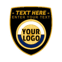 Blank Shield Custom Pins