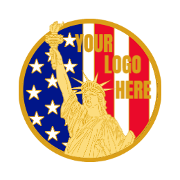 Your Logo Here Custom Lapel Pins