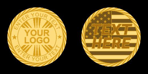 Your Logo Custom Coins