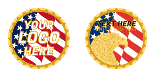 Your Logo Here Custom Coins