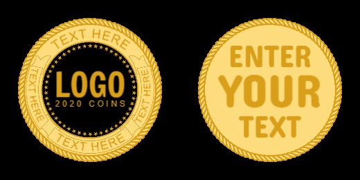 Logo Custom Coins