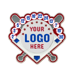 Your Logo Here Custom Trading Pins