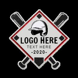 Logo Here Cutom Baseball Pins
