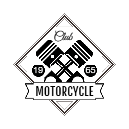 1965 Motorcycle Club Custom Patches