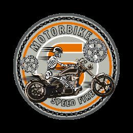 Motorbike Custom Patches