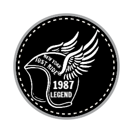 1987 Motorcycle Custom Patches