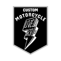 Custom Motorcycle Patch