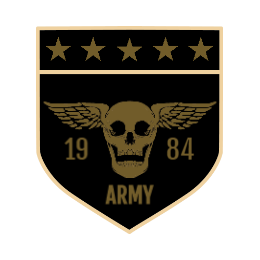 Army Skull Custom Patches