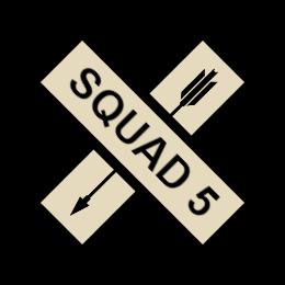 Squad 5 Custom Patches
