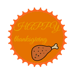 Thanksgiving Custom Patches