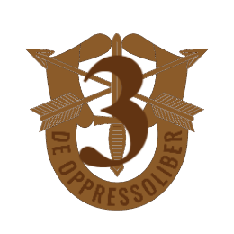 De Oppressoliber Custom Army Patches
