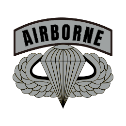 Airborne Army Custom Patches