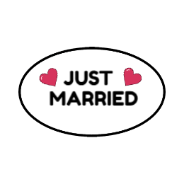 Custom just married patches