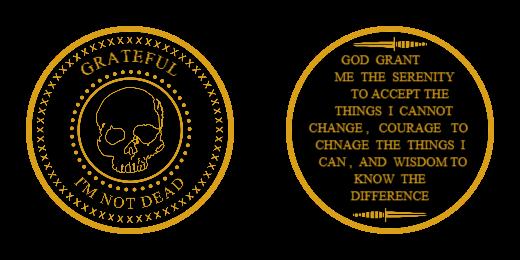 Grateful Custom Coins