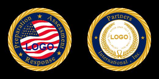 Customs Logo Coins