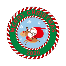 2020 Merry Christmas Custom Patches