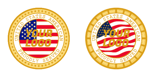 United States American Custom Challenge Coins