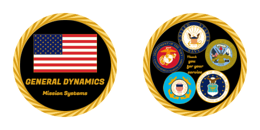 Mission Systems Challenge Coins