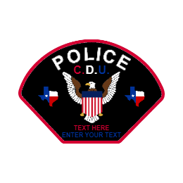 Special Custom Police Patches