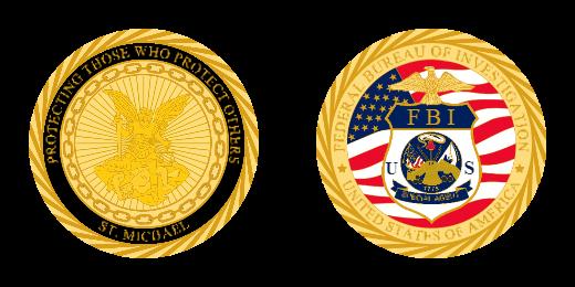 FBI Special Agent Custom Coins