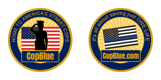 Home To USA Street Cops Custom Challenge Coins