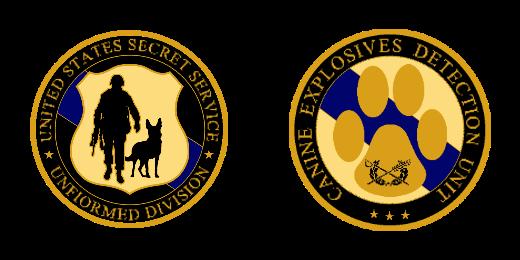 United State Secret Service Custom Coins