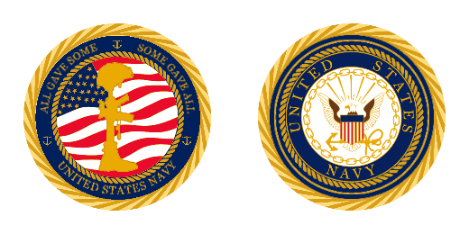 United States Navy All Gave Some Custom Challenge Coins