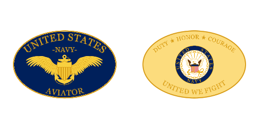 United We Fight Navy Custom Challenge Coins