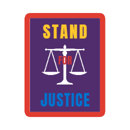 Stand for Justice Patches