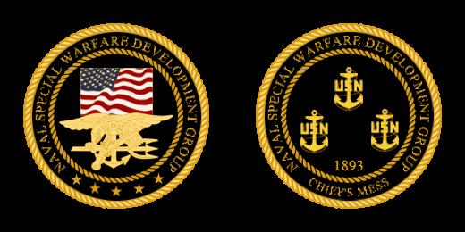 Naval Special Warfare Development Group Coins