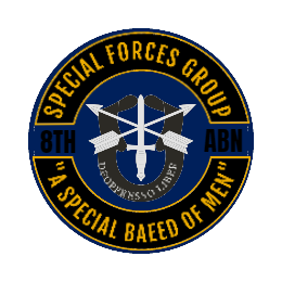 Special Forces Group Custom Patches