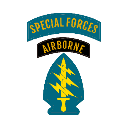 Airborne Special Forces Custom Patches