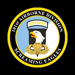 101st Airborne Division Custom patches