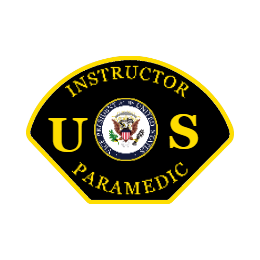 Instructor Paramedic Custom Patches