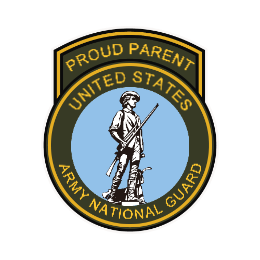 United States Army Mational Guard Custom Patches